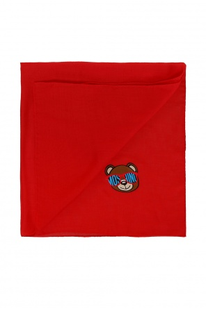 Teddy bear head neckerchief od Moschino