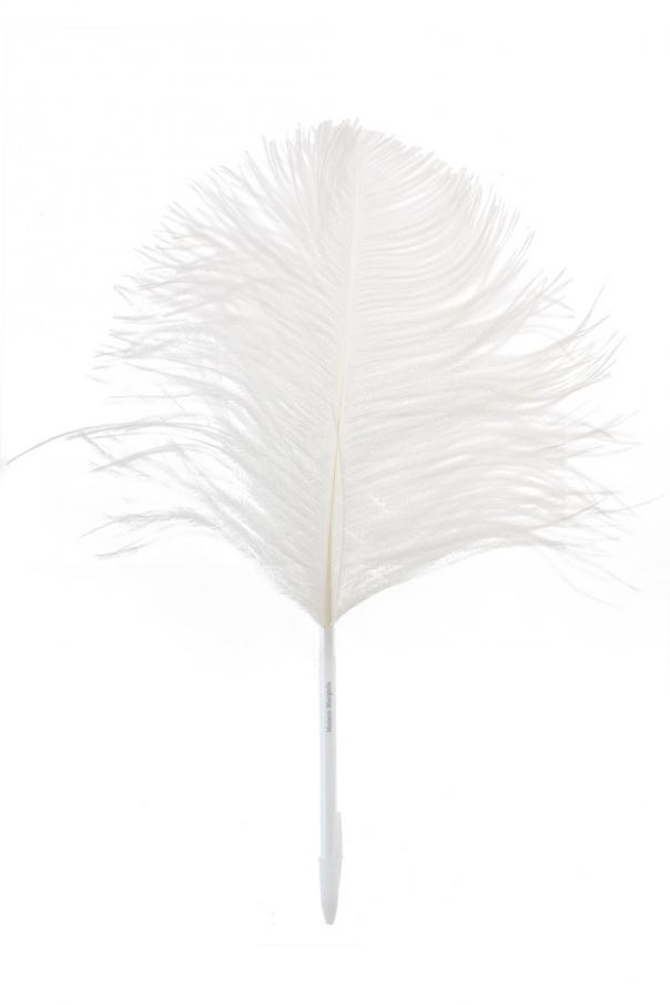 Ostrich feather pen od Maison Margiela