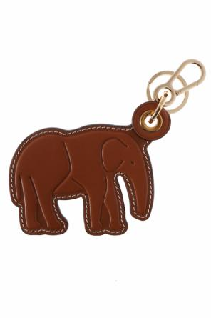 Elephant-shaped key ring od Loewe