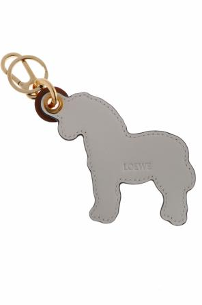 Zebra-shaped key ring od Loewe