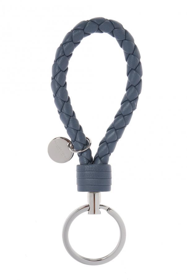 Bardzo dobryFantastyczny Skórzany brelok do kluczy Bottega Veneta - sklep internetowy Vitkac IG43
