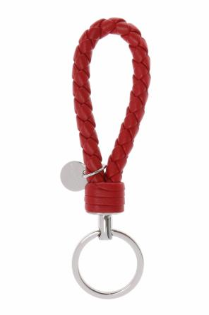 Key chain with an 'intercciato' braid od Bottega Veneta