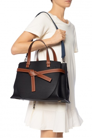 Perforated bag strap od Loewe