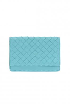 Snap-fastened card case od Bottega Veneta