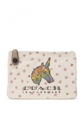 Clutch with logo od Coach