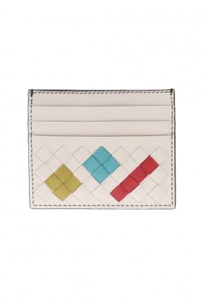 'intrecciato' pattern card holder od Bottega Veneta