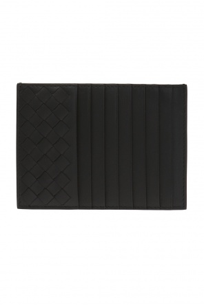 Card case with an 'intrecciato' braid od Bottega Veneta