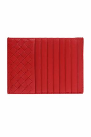 Card case  with an 'intercciato'  braid od Bottega Veneta