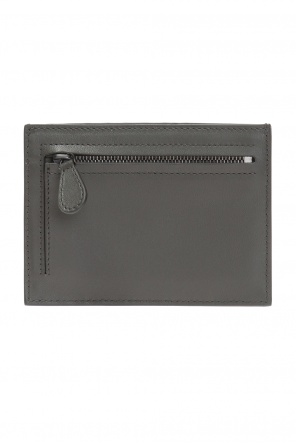Card case with 'intercciato' braid od Bottega Veneta