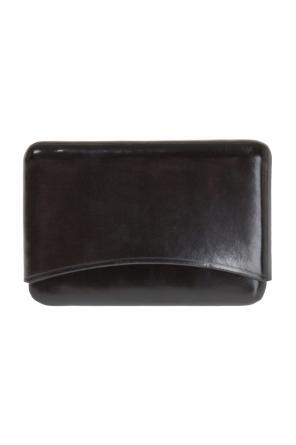 Leather business card holder od Ann Demeulemeester