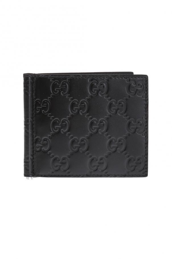 'microguccissima' leather card case od Gucci