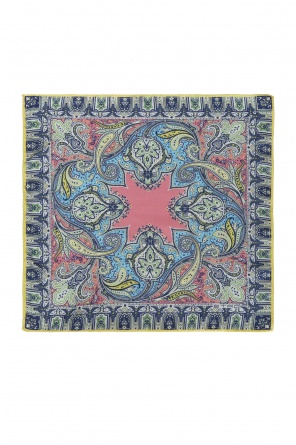 Patterned pocket square od Etro