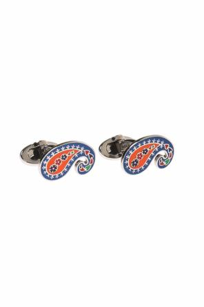 Patterned cuff links od Etro