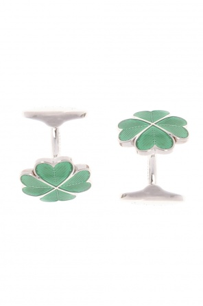 Clover cuff links od Etro