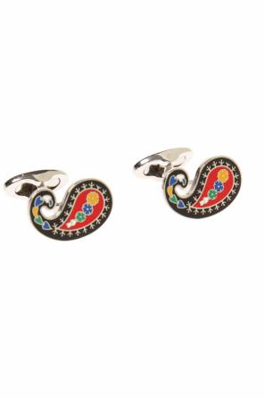 Cufflinks with a 'paisley' motif od Etro