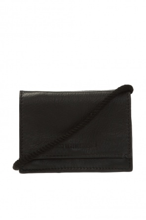 Neck bag with logo od Ann Demeulemeester