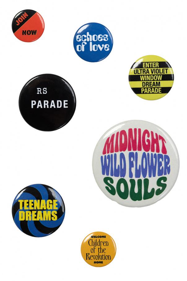 Raf Simons Set of pins