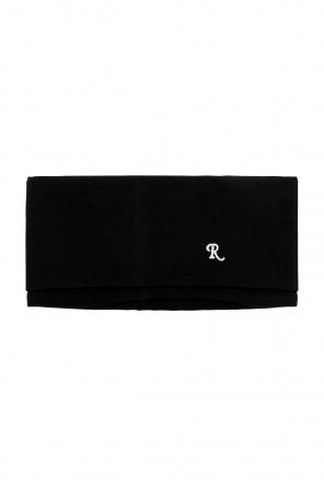 Tube scarf with logo od Raf Simons