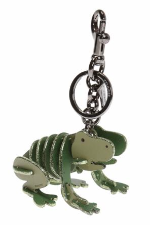 Key ring with frog charm od Coach