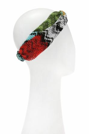 Patterned head band od Missoni