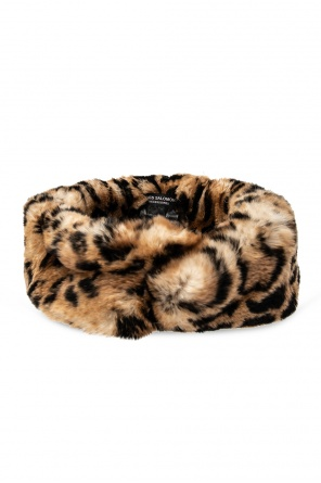 Fur headband od Yves Salomon
