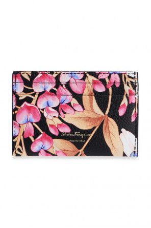 Card case with floral motif od Salvatore Ferragamo