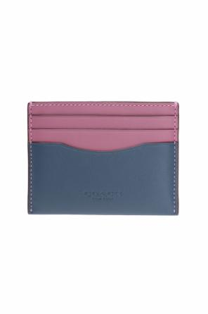 Two-coloured card case od Coach