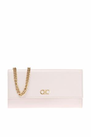 Wallet on chain with logo od Salvatore Ferragamo
