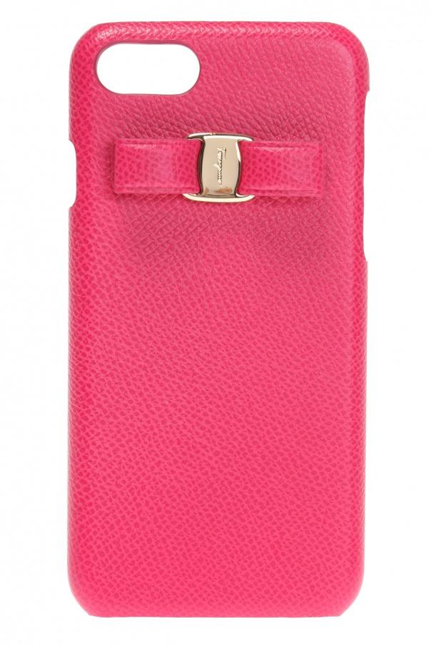 online store 336f7 1ffdb Iphone 7 case with bow Salvatore Ferragamo - Vitkac shop online