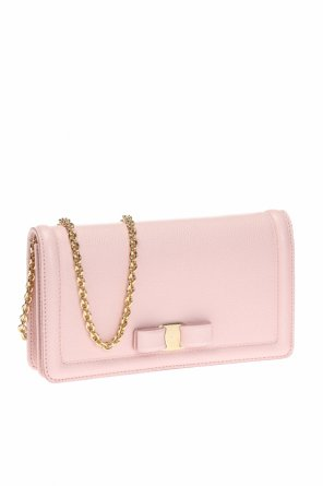 Wallet on chain with bow od Salvatore Ferragamo