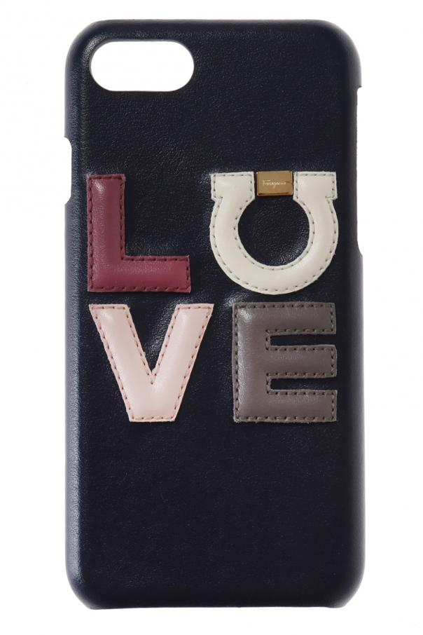 finest selection d110a 16c0f Leather iPhone 7 case Salvatore Ferragamo - Vitkac shop online