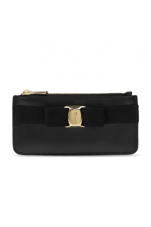 Salvatore Ferragamo Card case with bow