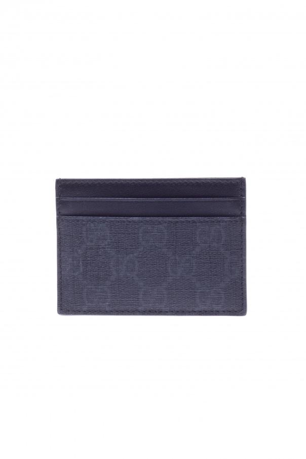 5a3bca51ead GG supreme  Canvas Card Holder Gucci - Vitkac shop online