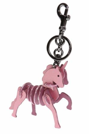 Key ring with horse charm od Coach