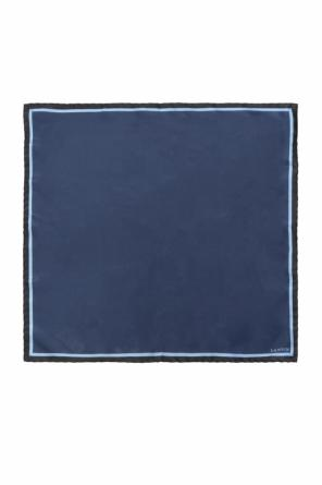 Logo pocket square od Lanvin