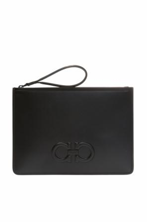 Clutch with logo od Salvatore Ferragamo