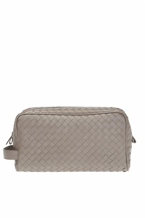 b0bc34675f Intrecciato  pattern wash bag Bottega Veneta - Vitkac shop online