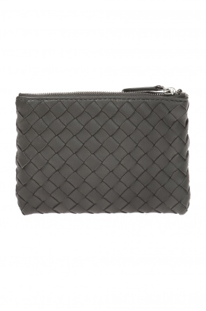 Key case  with an 'intercciato'  braid od Bottega Veneta
