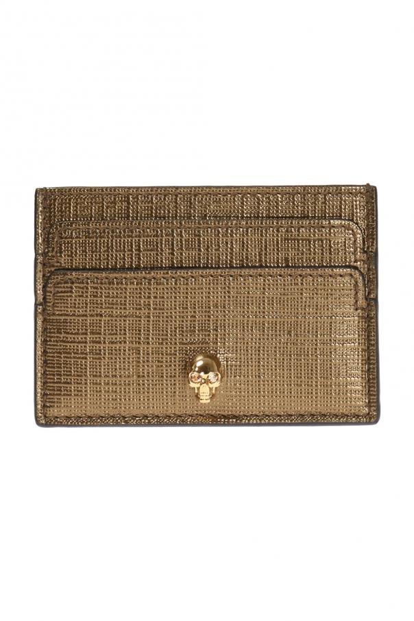Leather card case od Alexander McQueen
