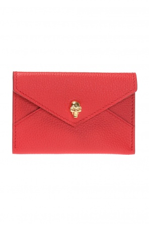 Snap-fastened card case od Alexander McQueen