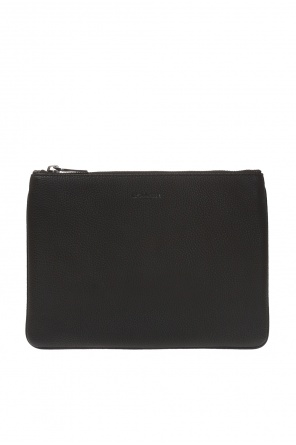 Clutch bag with embossed logo od Coach