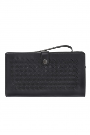 Leather document pouch od Bottega Veneta