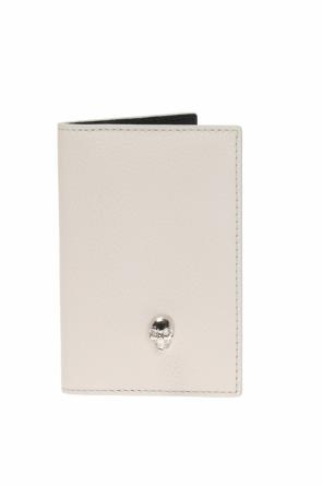 Card case with a skull motif od Alexander McQueen
