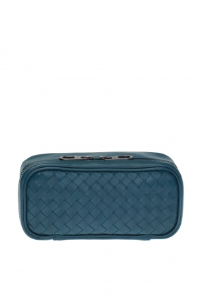 Leather wash bag od Bottega Veneta