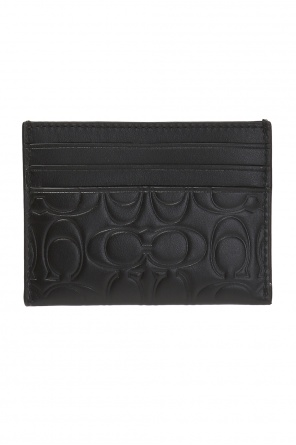 Patterned card case od Coach