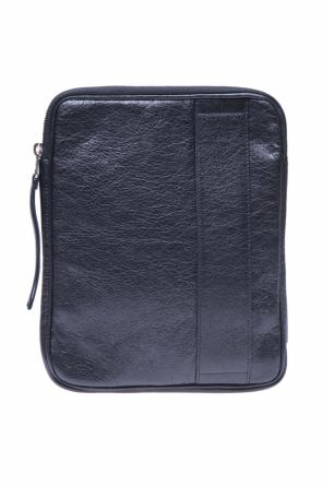 Leather ipad case od Balenciaga