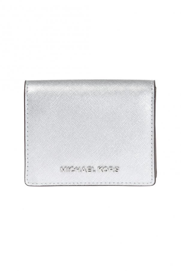 ae4c97deb078 Wallet with metal logo Michael Kors - Vitkac shop online