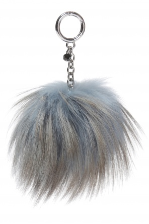 Fox fur key ring od Michael Kors