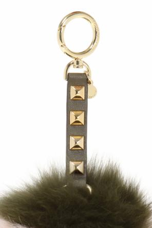 Pompom key ring od Michael Kors