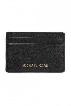 Money pieces' card case with logo od Michael Kors